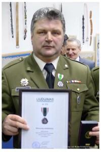 (2) 2016-01-12 Dr. Raimundas Kaminskas ,,Už nuopelnus,,