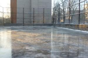 Dar vienas vandens pylimas ir ledas bus paruoštas