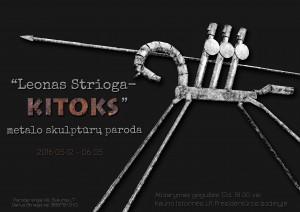 Leonas Strioga plakatas