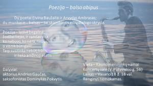 Poezija balso abipus