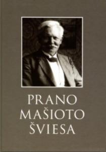 knyga Prano Mašioto šviesa