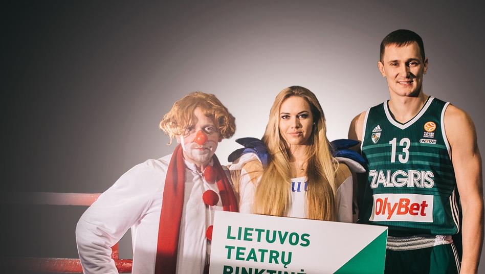 """""""Žalgirio"""" arenoje Teatro diena"""