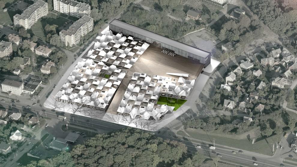 Aleksoto turgaus vizija – modernus traukos centras