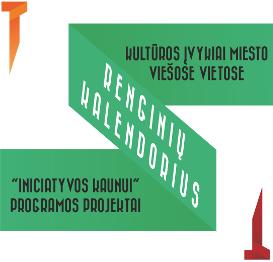 Renginių Kauno viešose vietose kalendorius