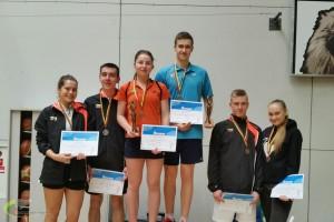 viduryje čempionai V. Fomkinaitė M. Šames