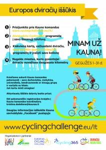 Europos dviračių iššūkis 2016