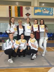 Kauno komandos su trenere