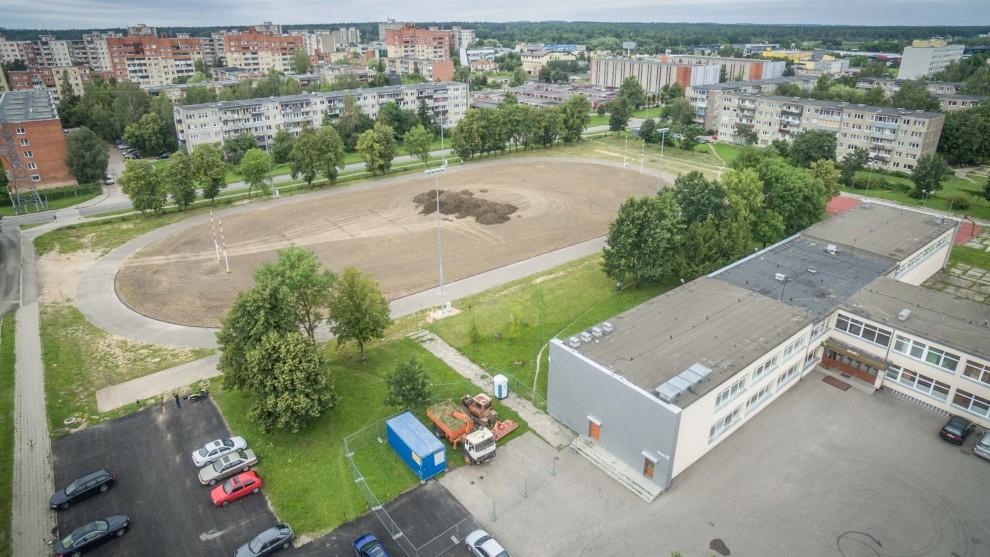 Mokyklų stadionai taps moderniais aikštynais