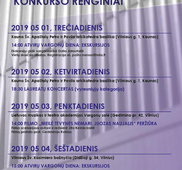 2019-05-01 NaujalioVargonininkuKonkursas RENGINIAI