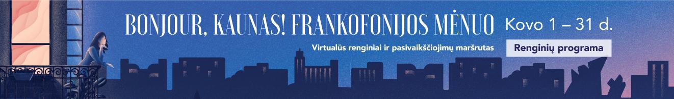 Frankofonijos mėnuo 2021