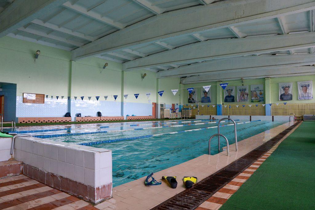 """Kauno plaukimo mokyklos baseinas """"Šilainiai"""""""
