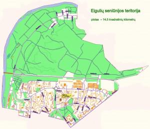 Eigulių seniūnijos teritorija
