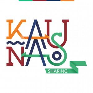 Kaunas sharing logo slogan