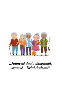 2015 Patikrinta Pagyvenusių žmonių mėnesio renginių programa