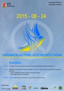 Ukrainos Nepriklausomybės dienos minejimas_2015